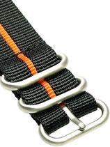 Zulu HC 5 Ring »Stripey Orange«
