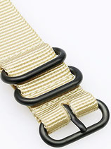 Zulu PVD 3 Ring beige