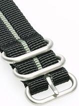 Zulu HC 3 Ring »Stripey Grey«
