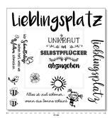 "Serviette 9 ""Lieblingsplatz"""