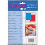 Kopierpapier blau & rot