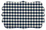 Canvas Webkaro navy blazer