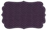 Singel Jersey klein Punkt Pink navy cosmos