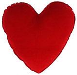 Kuscheliges Herzkissen