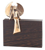 Bronzefigur Engel