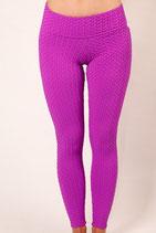 Brasilfit Camilla Violet Textured Leggings