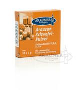 Arausan Schwefelpulver 10x1 g - Sonderpreis