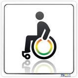 Plaque handicapé