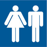 Pictogramme piscine WC homme/femme