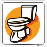 Pictogramme toilette dessin