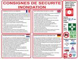 Consignes de sécurité inondation