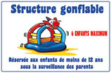 Structure gonflable