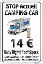Stop accueil Camping-Car