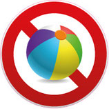 Ballons interdits coloré