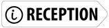 Directionnel droite réception avec logo i