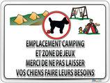Propreté des chiens sur le camping