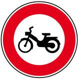 """B9g """"Accès interdit aux cyclomoteurs"""""""