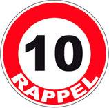10 Rappel