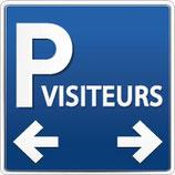 Directionnel parking visiteurs