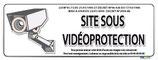 Site sous vidéo protection