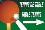 Tennis de table à droite