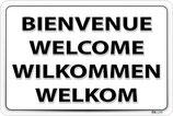 Panneaux bienvenue
