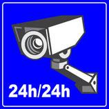 Vidéo protection 24h/24h