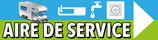 Directionnel Aire de service camping car dessin