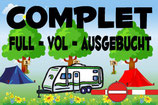 Camping complet ou disponible