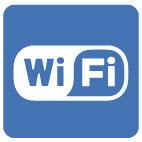 Logo Wifi bleu