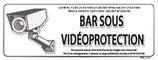 Bar sous vidéo protection