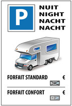 Parking nuit camping car
