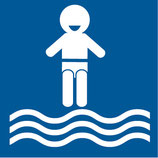 Pictogramme piscine enfants