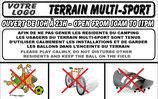Terrain multi-sport Français/Anglais