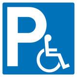 Parking handicapé standard