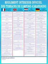 Règlement intérieur 4 langues