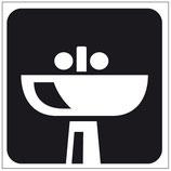 Plaque lavabo
