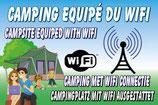 Camping équipé en Wifi