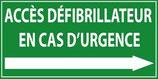 Accès défibrillateur en cas d'urgence