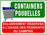 Containers Poubelles Français