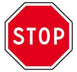 """Panneau AB4 """"stop"""""""