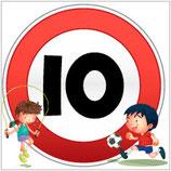 Panneau carré 10