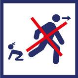 Pictogramme Ne pas laisser un enfant sans surveillance