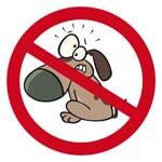 Chiens interdits cartoon