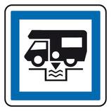 Panneau de signalisation des services