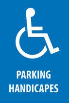 Parking handicapé