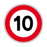 B14 Limitation de vitesse