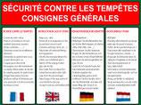 Consignes Tempêtes 4 langues
