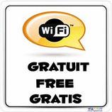 Panneau Wifi gratuit 3 langues