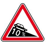 """Panneau A16* """"descente dangereuse"""""""